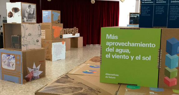 Exposici n itinerante energ a sabadell museo del gas for Oficina gas natural sabadell